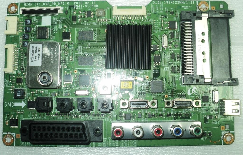 Main BN41-01360B (SAMSUNG PS42C431A2W F71B)